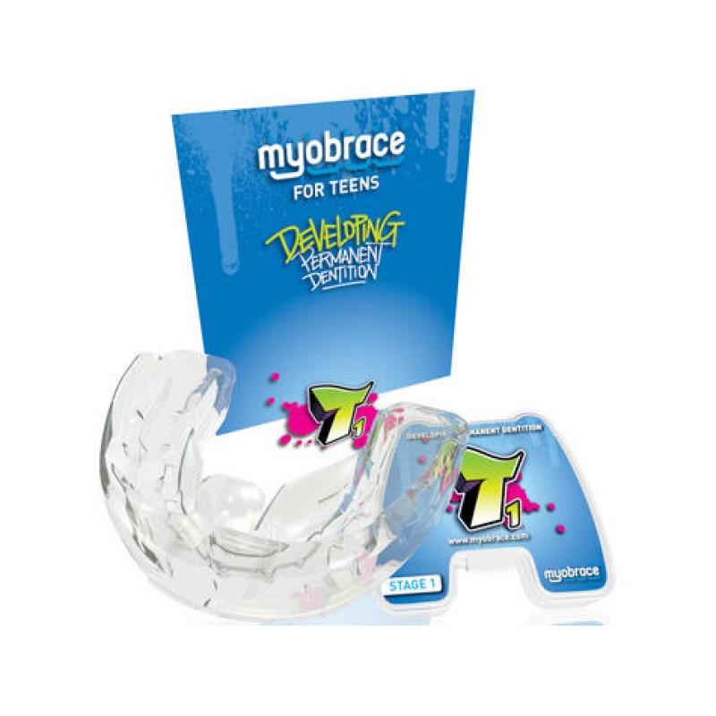 Трейнер Myobrace for Teens T1 без каркаса (Миобрейс Т1)