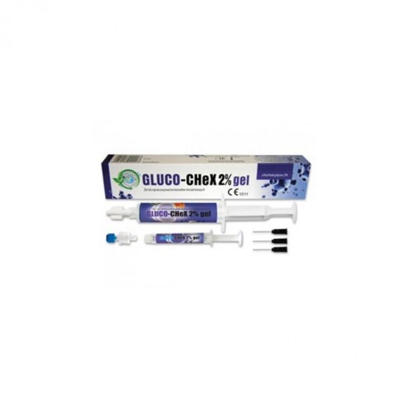 Глюкочекс гель (GLUCO-CHEX) 2% хлоргекседин 5 мл