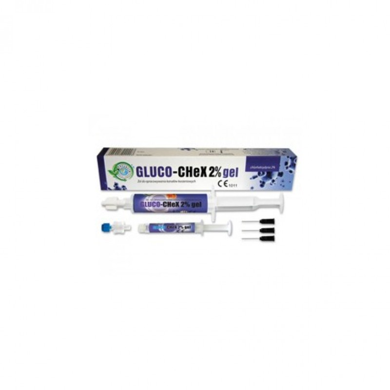 Глюкочекс гель (GLUCO-CHEX) 2% хлоргекседин 10 мл
