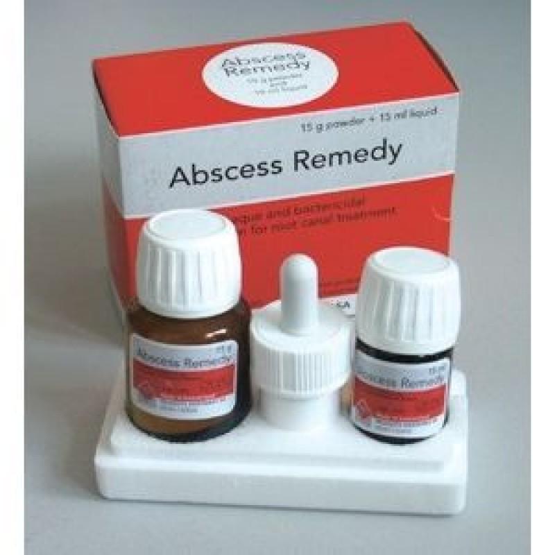 Абсцесс ремеди паста с дексаметазоном 15г + 15 мл (Abscess remedy paste with dexametason) PD