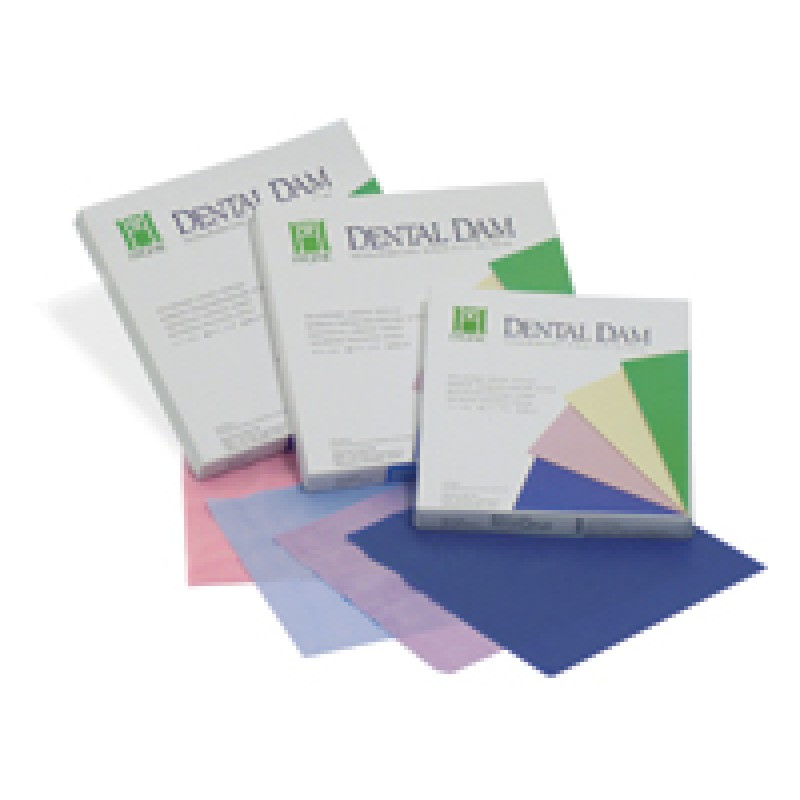 Платки для коффердама тонкие (Dental Dam list thin)