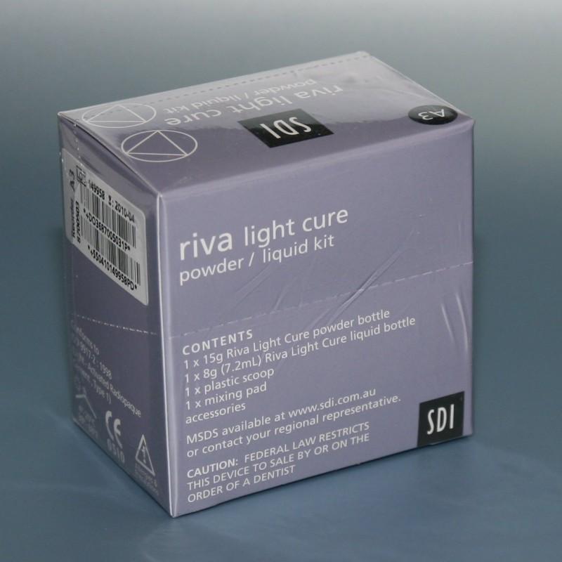 Рива фотополимерный материал 15г + 8г (Riva light cure)