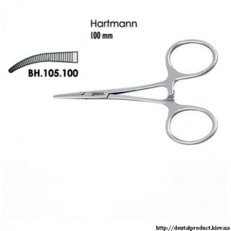 Зажим Hartmann изогнутый BH.105.100