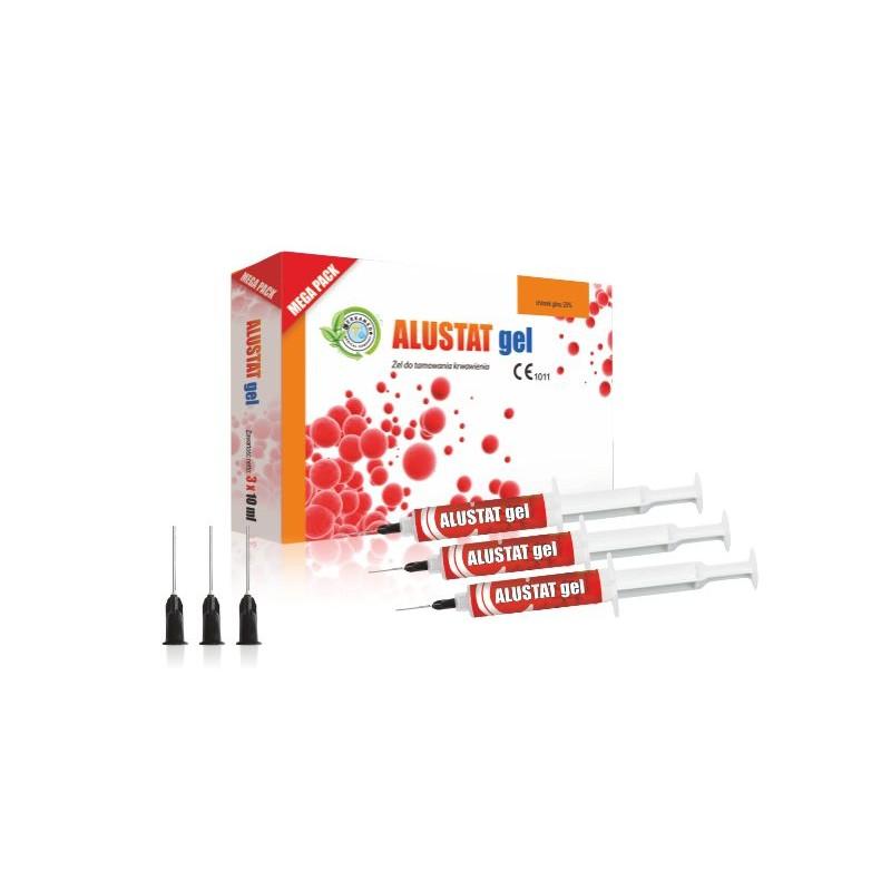Алюстат гель (ALUSTAT GEL) 20% 3x10мл