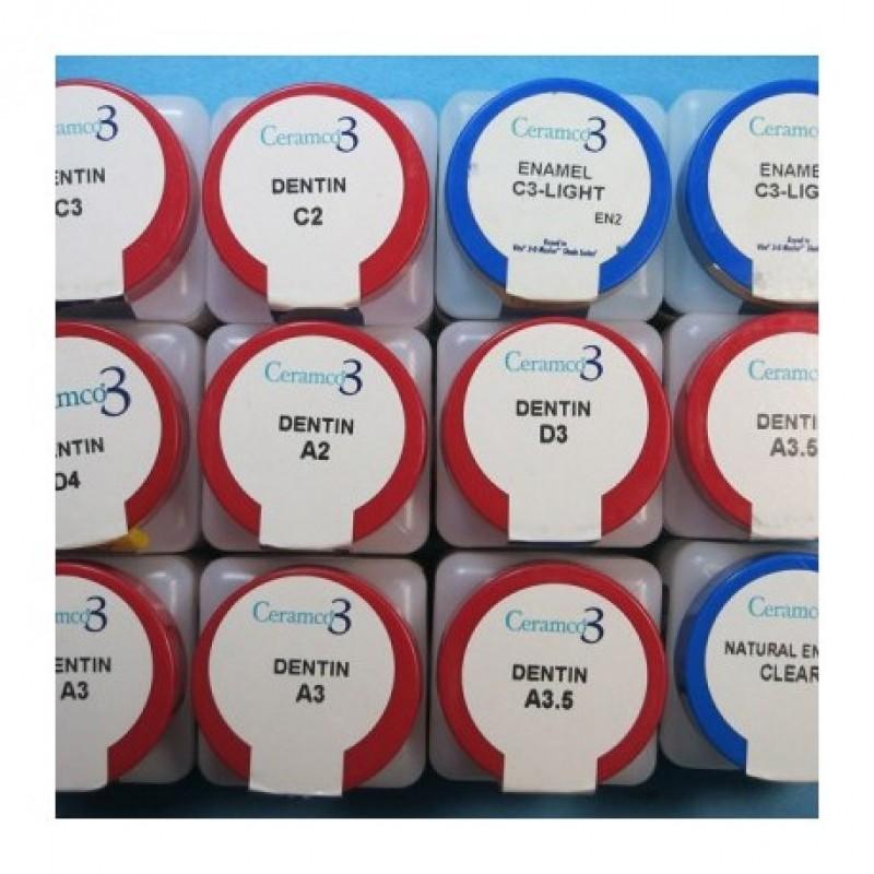 Керамко 3 эмаль натуральная (Ceramco 3)
