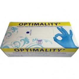 Перчатки нитриловые Оптималити (Optimality)
