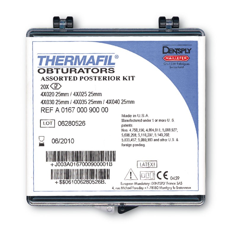 Обтураторы Термафил ( Thermafil Dentsply Maillefer ) 30 шт\уп