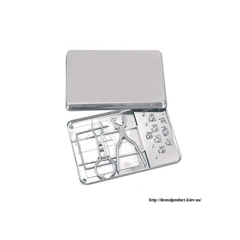 Раббердам набор с 8 металлическими кламерами DR.900.001