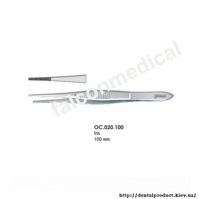 Пинцет 100 мм OC.020.100
