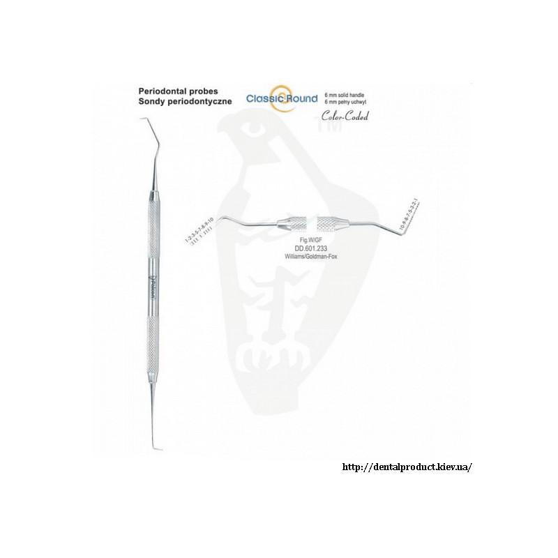 Зонд двухсторонний миллиметрический DD.601.233