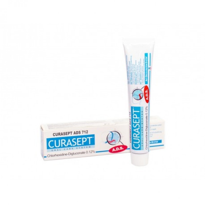 Паста зубная гелеобразная 0,12% ADS 712