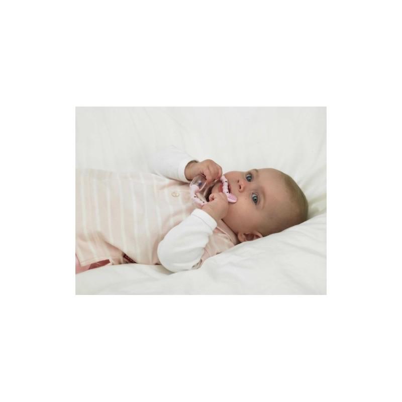 Curababy girl, Стимулятор для прорезывания временых зубов , розовый