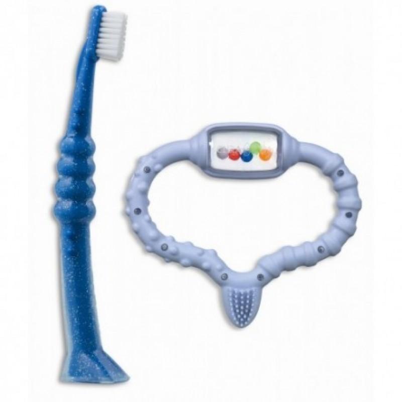 Curababy boy, Стимулятор для прорезывания временых зубов , голубой