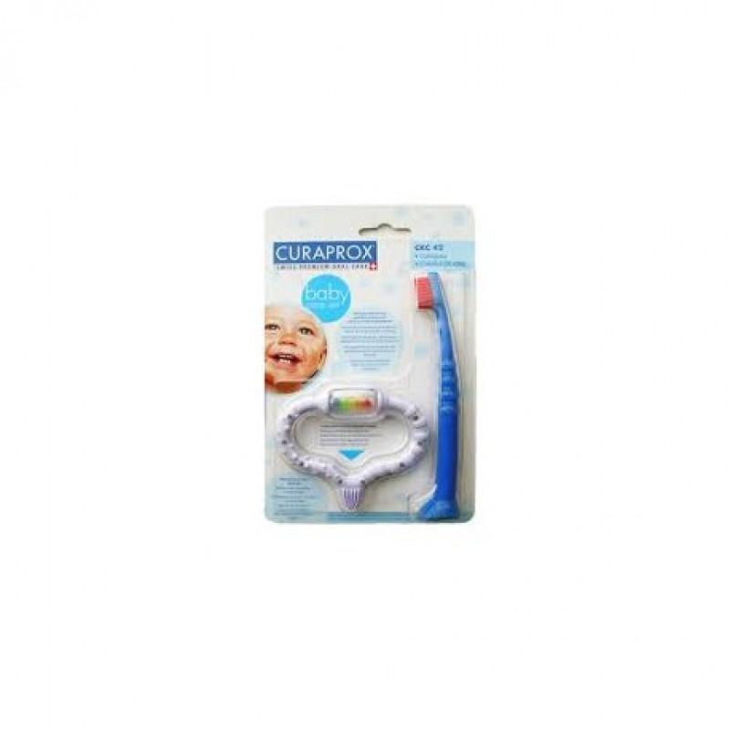 Curababy, Стимулятор для прорезывания временых зубов + щетка