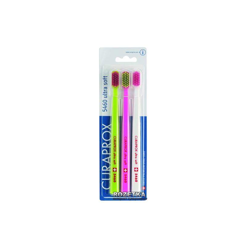 Зубная Щетка Курапрокс Ultra Soft CS 5460\3 ( Curaprox )